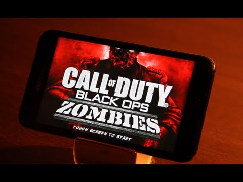 CALL OF DUTY  Black Ops Zombies Android Gameplay Samsung Galaxy Note