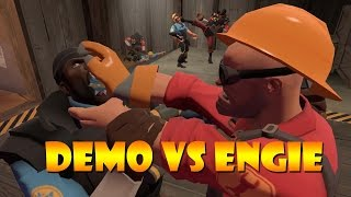 TF2 bot battle 24: Demo Vs Engineer