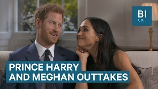 Prince Harry Abd Meghan Markle Joke Around When Their Mics Are Off
