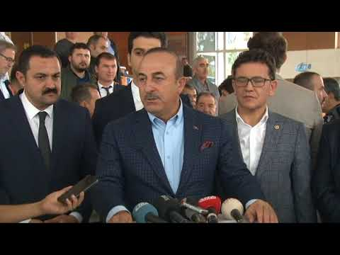"""Mevlüt Çavuşoğlu: """"Sözün Tutulmasını Bekliyoruz"""""""