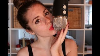 ASMR 8 minutes kissing sounds straight for relaxation