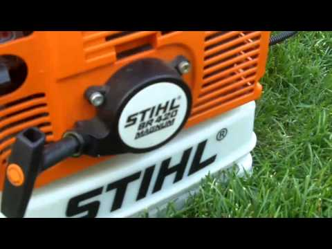 How To Adjust the Idle Speed Screw on a Trimmer/Blower