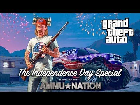 GTA V Lança Fogos e  Escopeta