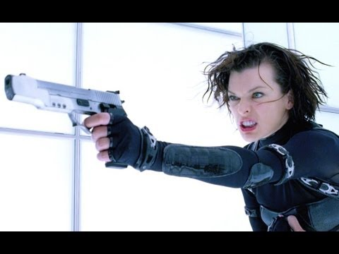 Resident Evil Retribution - Official Trailer (hd) Milla Jovovich video