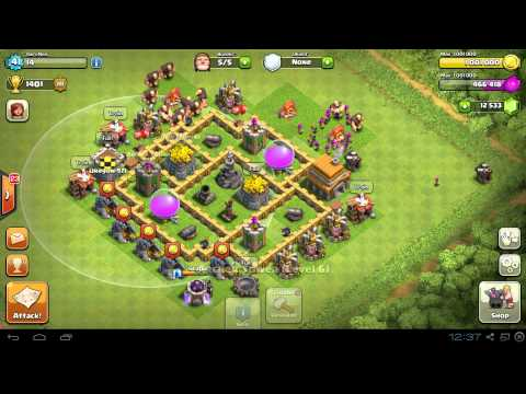 BEST Town Hall Level 5 (TH5) Farming Base Design Layout Strategy Clash of Clans