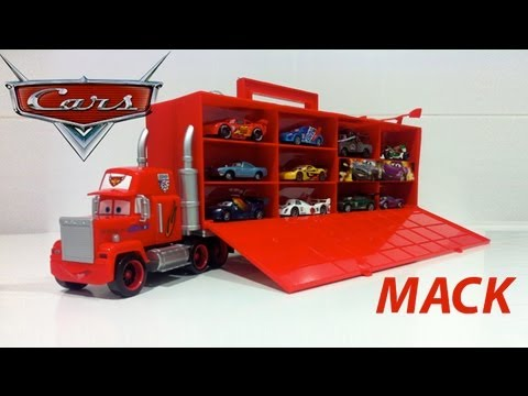 Exclusive Disney Pixar Cars 2 Mack Truck Carry Case With