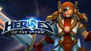Heroes of the Storm : Road to Rank 1 #4(Sonya)