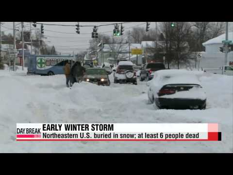 Early winter storm turns deadly in U.S., freezing temps in all 50 states   미국 기록