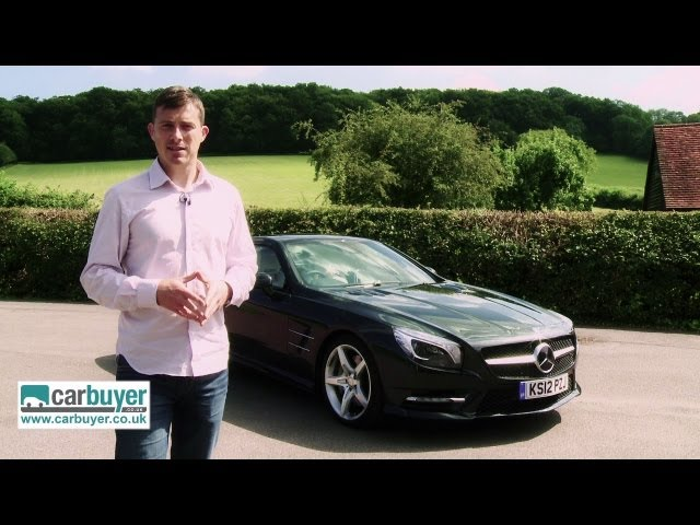 Mercedes SL-Class convertible review - CarBuyer - YouTube