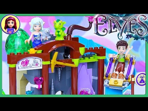 LEGO Elves The Precious Crystal Mine Build Review Silly Play - Kids Toys