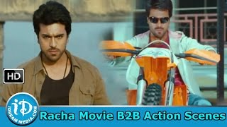 Rachaa - Racha Movie - Best Telugu Action Sequences - Back to Back Fight Scenes