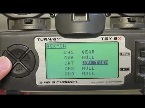 DJI Naza Basic and Attitude Gain Settings for Pitch & Roll Using Turnigy 9X Control Knobs