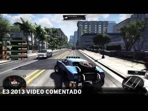 The Crew - E3 2013 - Video Comentado [ES]