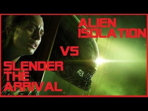 Slender vs Alien Isolation. Игровой патруль №2.
