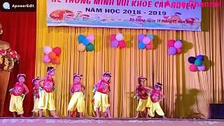 Múa Âm sắc quê hương MG Hoa Lan