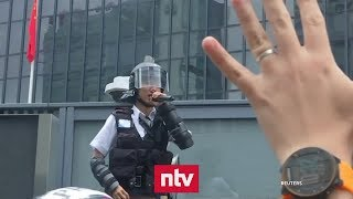 Massenproteste in Hongkong eskalieren | n-tv