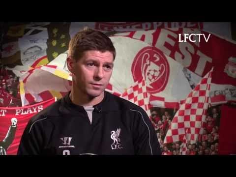 Steven Gerrard interview with LFC TV