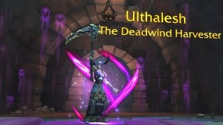 The Story of Ulthalesh, The Deadwind Harvester [Artifact Lore]