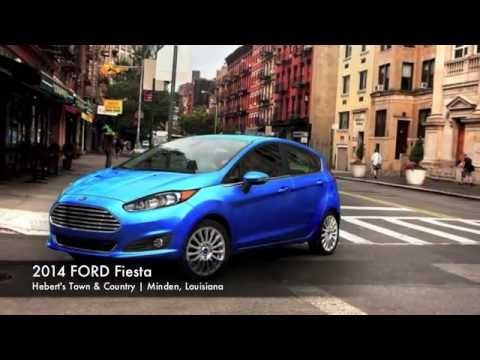 New 2014 Ford Fiesta in Minden, LA | Hebert's Town & Country Ford Lincoln