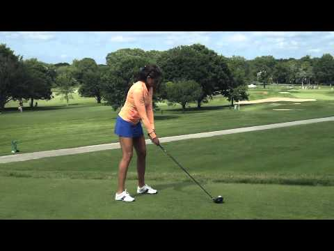 Holly Sonders Driver Swing: CVS Caremark Charity Classic