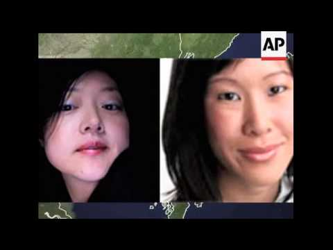 The two American television reporters imprisoned in North Korea for 4 1/2 months have written an art