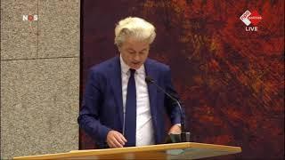 Rutte: wegwezen! Inbreng Geert Wilders debat dividendbelasting