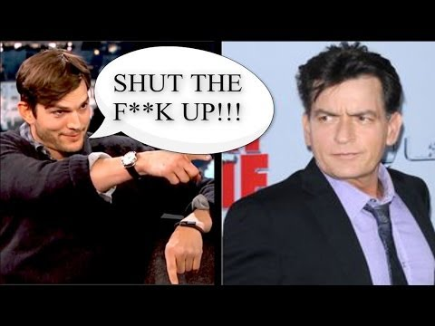 Ashton Kutcher Asks Charlie Sheen To Shut The F*** Up