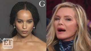 Michelle Pfeiffer Reacts To Zoe Kravitz As Catwoman