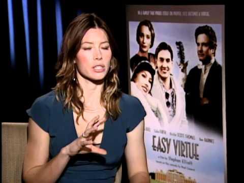 Easy Virtue - Exclusive: Jessica Biel Interview