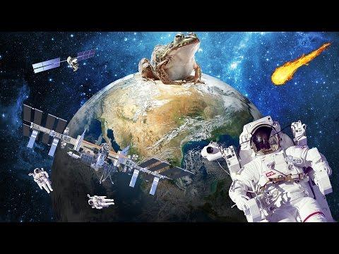 Плоская Земля: МКС нет, Размер России, Искажение горизонта.