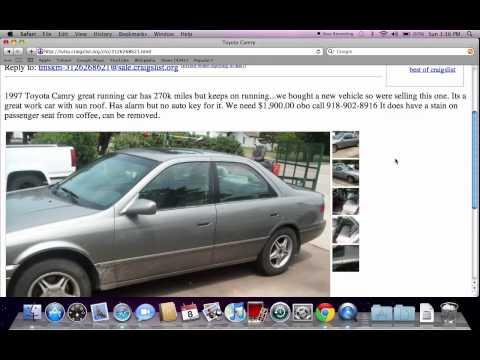 Craigslist tulsa cars autos post for Craigslist oklahoma city