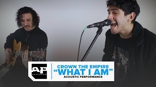 "Crown The Empire–""What I Am"" Exclusive Acoustic Performance"
