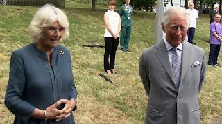 video: Prince Charles reveals he lost taste and smell with coronavirus on first royal appearance since lockdown