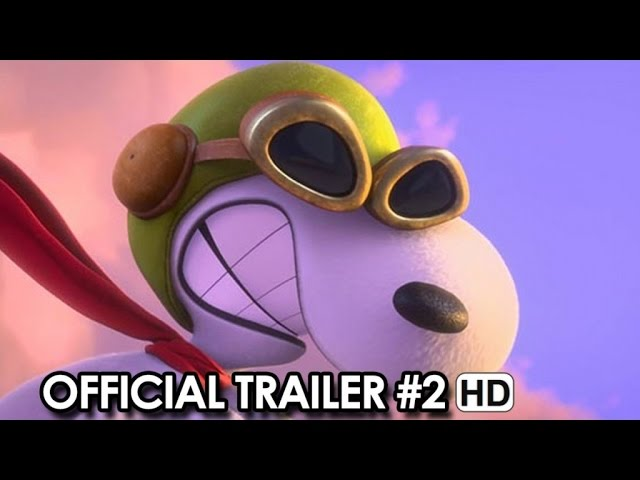 Peanuts Official Trailer #2 (2015) - Snoopy, Charlie Brown Movie HD