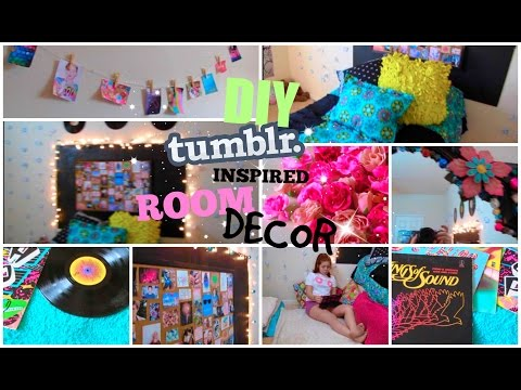 ♡DIY Tumblr Inspired Room Decor for Teens♡| Cute and Cheap! | CartneyBreanne