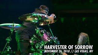 Metallica Harvester Of Sorrow Las Vegas Nv November 26 2018