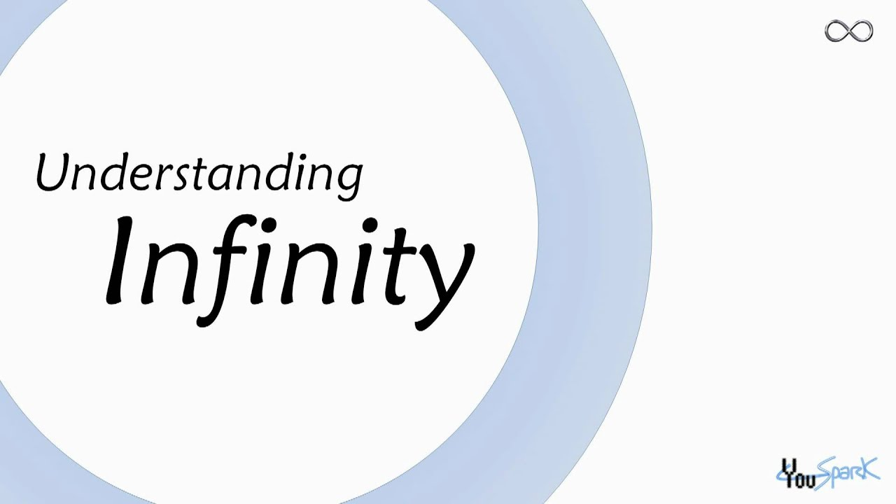understanding infinity Does infinity exist  the role of infinity in understanding the universe  professor john barrow considers the role of infinity in our understanding of the.