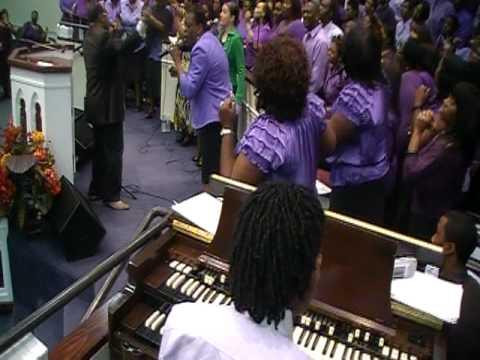 church choir in acres homes on 6616 DSBailey Ln. Houston Texas 77091.