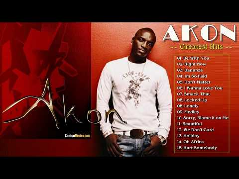 Akon Greatest Hits Full Album 2017