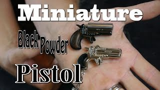 Miniature Black Powder Pistol (Time Lapse)
