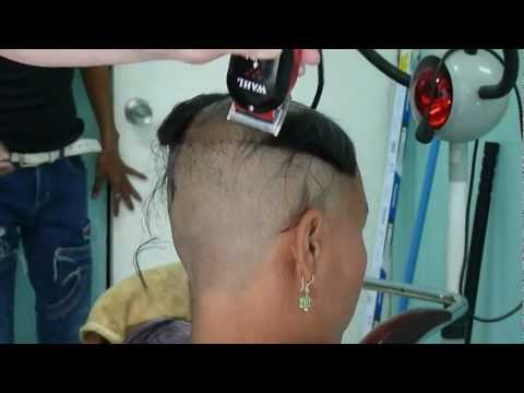 Barber Shop Girl Clipper Cut