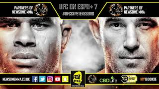 UFC St. Petersburg breakdowns and predictions hosted by Newsome and Jon