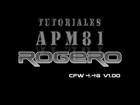 PS3 Rogero 4.46 V1 0 1 CEX Y Multiman 4.46 (Solo consolas pirateadas y 3.55 oficial)