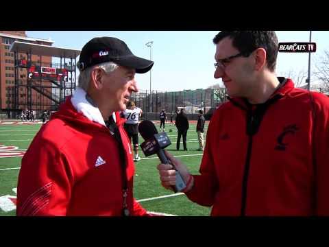 Bearcats Spring Football Practice #10: Tommy Tuberville Interview