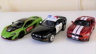 TOY CARS REVIEW, POLICE CAR, RACING CAR, VIDEO FOR KIDS