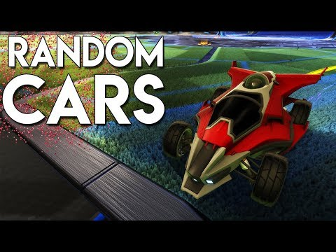 NUTTY GOALS WITH RANDOM CARS!! | Rocket League Highlights & Funny Moments!
