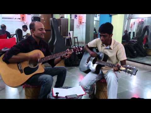 Chand Taare Tod Laun - Yes Boss - Guitar cover By Dharmesh Soni...