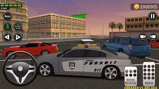 Car Driving Academy 2018 3D New Paint Police Car Pursuit Unlocked Android Gameplay