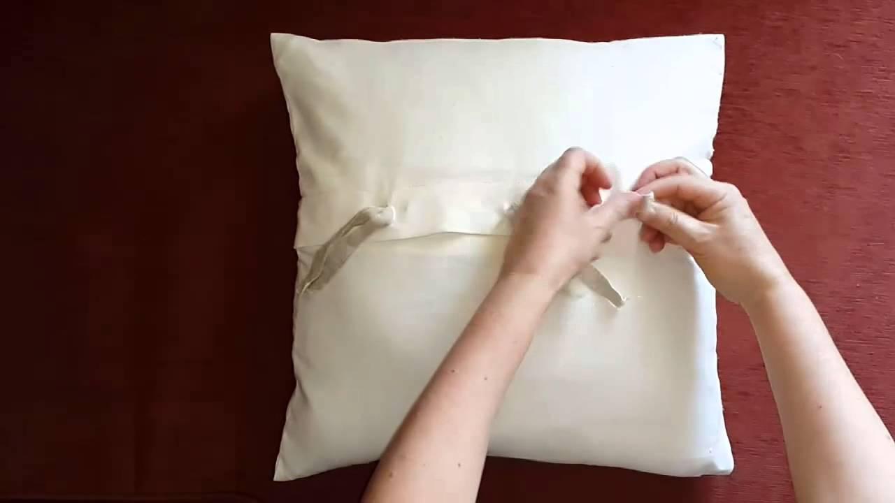 Сшить подушка на клапане 25