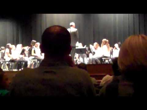 "Hershey Middle School Band ""Jingle-Bell Rock withi Rockin' Around the Christmas Tree"""